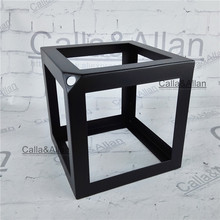 Buy square lamp shades and get free shipping on aliexpress callaallan iron black square cage lamp shade e27 edison diy lighting accessories mozeypictures Image collections