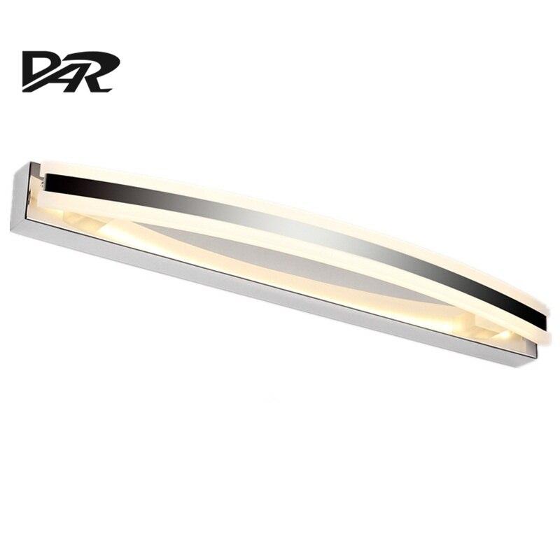 Modern Acrylic Lampsahde LED Bathroom Light L40 55 70cm Wall Mounted LED Mirror Light Lamparas De