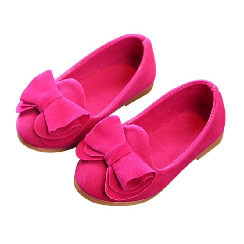2018 Summer Classic Candy Colors Girls Small Classic Shoes Cute Girl Big Bow Princess First Walkers Shoes