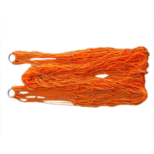 Best оранжевый нейлон гамак висит сетка чистая спальная кровать качели Открытый Отдых Путешествия