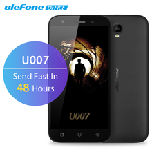 Ulefone U007 Mobile Phone 5 inch HD 1280×720 MTK6580A Quad Core Android 6.0 1GB RAM 8GB ROM 8MP CAM 3G GPS 2200mAh Dual Sim