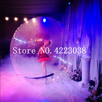 Free Shipping 0.8mm PVC 2m Dia inflatable water ball for children, inflatable water walking balls