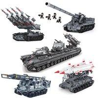 Xingbao 06001/06004/06005/06006/06007 Military Building Blocks Bricks Compatible LegoINGlys Military Weapons Educational Toys