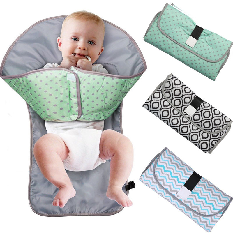 Portable Foldable Waterproof Baby Changing Diaper Mat Maty Diaper Changer