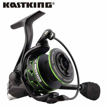 KastKing Eagle Green Super Light Carbon Spinning Reel Max Drag 10KG Fishing Reel for Bass Pike Fishing with 11 Ball Bearings - DISCOUNT ITEM  48% OFF Sports & Entertainment