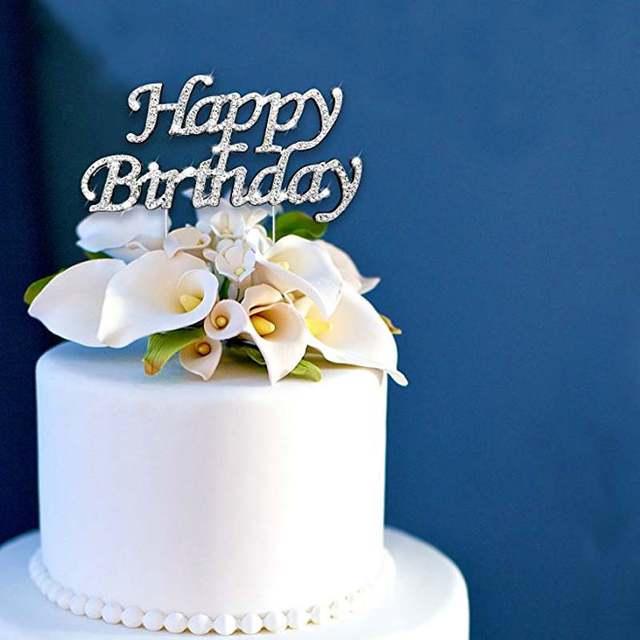 Happy Birthday Cake Topper Kid Boy Girl First 1st Adult 10th 16th 18th 20th 21st 30th