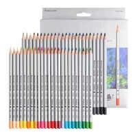 Raffine Marco Arte Lápis de cor 48/72 Cores Lápis De Cor de Madeira Lápis de Cor Pintura A Óleo do Artista Para A Escola Não- tóxico