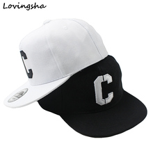 LOVINGSHA Boy Baseball Caps 3-8 Years Old Kid Snapback Caps Letter