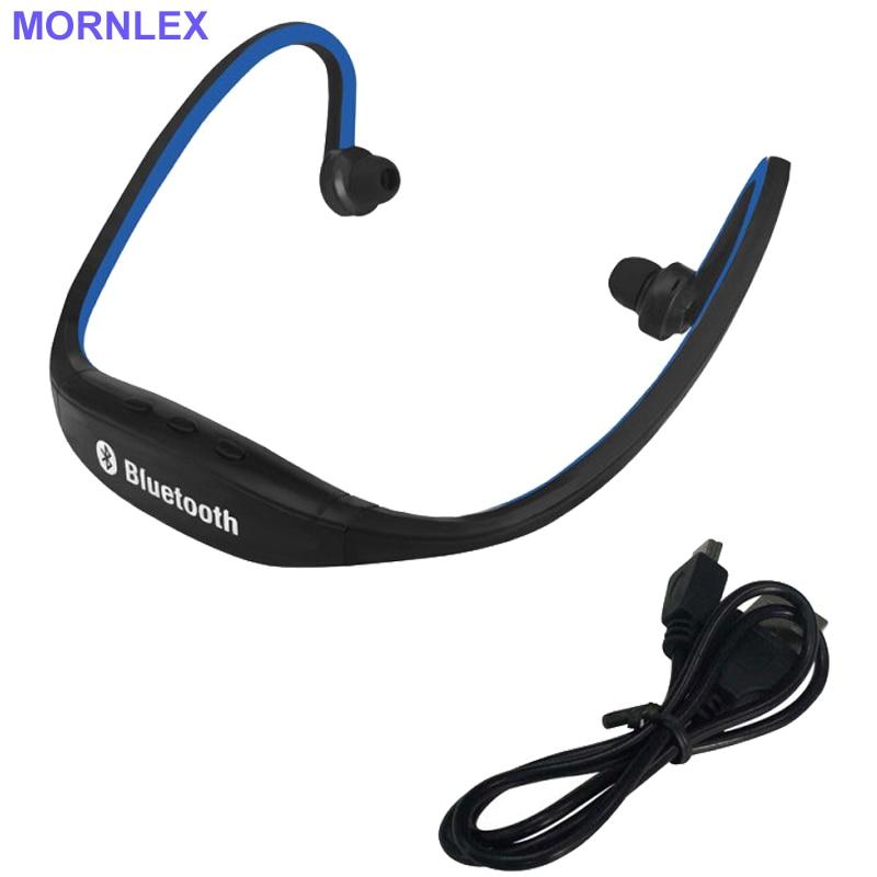 Neck earphones bluetooth +TF card earphones&headphones with microphone waterproof running earphones for MP3 player auriculares