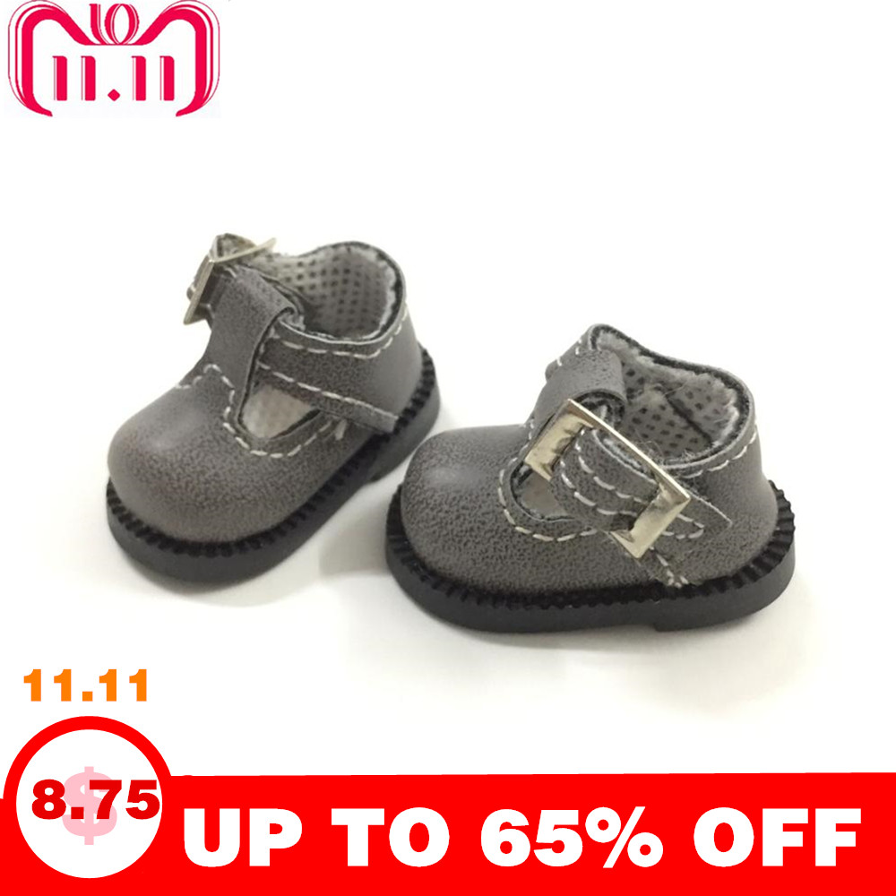 BEIOUFENG 4CM Doll Shoes For Blythe Doll Toy,Fashion Sneakers Shoes Puppet Shoe for Azone Doll,Mini Footwear Slipper Shoes
