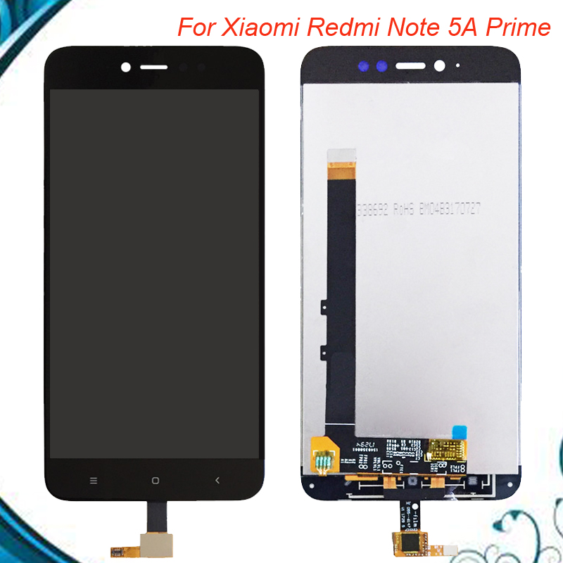 100 Tested OK For Xiaomi Redmi Note 5A Prime 3GB 32GB LCD Display Touch Screen Digitizer Assembly Replacement IN Stock in Mobile Phone LCD Screens from Cellphones Telecommunications