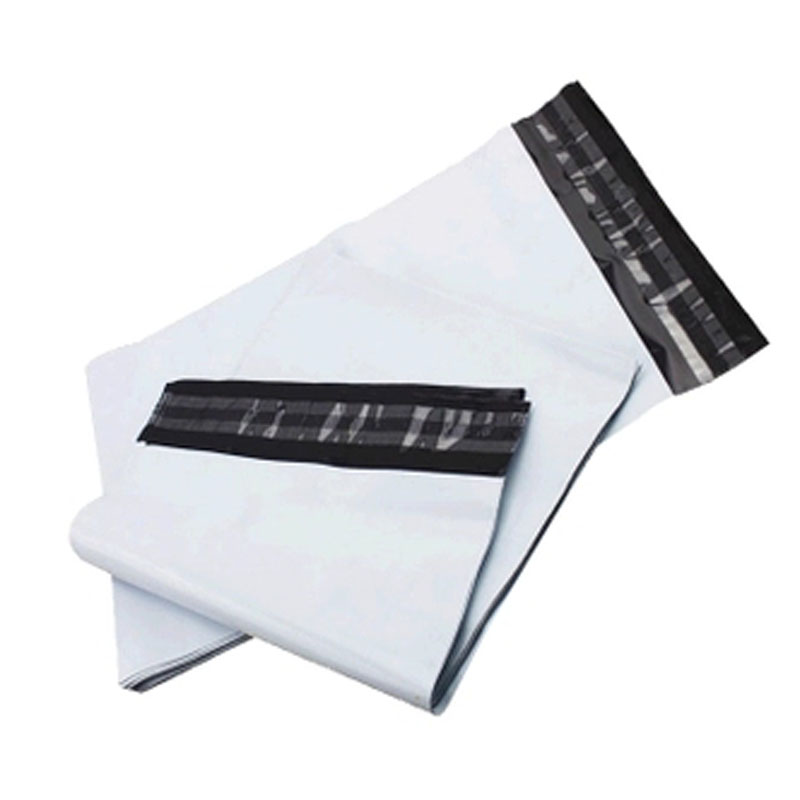 Light Gray Courier Bag 10pcs Self-seal Mailbag Plastic Poly Mailing Envelope Waterproof Postal Shipping Bags Courier Envelope