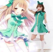 купить LoveLive! Start dash! Kousaka Honoka/ Minami Kotori/ Sonoda Umi Cosplay Costume Lolita Dress Halloween Costumes for Women дешево