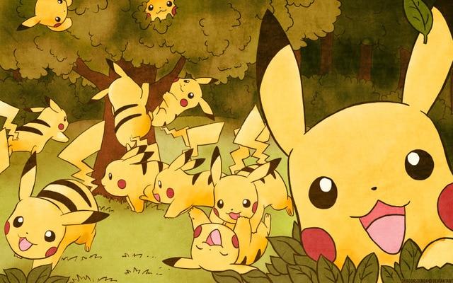 Hot Sale Pikachu Fan Art Pokemon Poster Custom Wallpaper