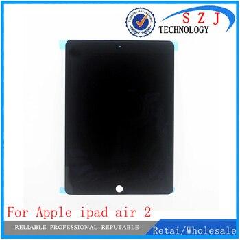 Новинка для Apple ipad air 2 ЖК-дисплей с сенсорным экраном дигитайзер для ipad 6 ipad air 2 A1567 A1566 Черный Белый Бесплатная доставка