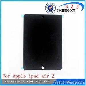 Новый ЖК-дисплей для Apple ipad air 2, дигитайзер сенсорного экрана для ipad 6, ipad air 2, ipad air 2, A1567, A1566, черный, белый, Бесплатная доставка