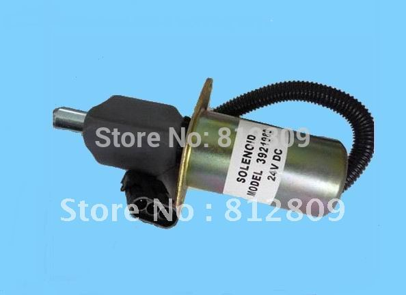 Fuel shutdown solenoid 3921980 shut off solenoid 6CT/6CTA 24V ,free shipping+fast free shipping by TNT/DHL,UPS 3924450 2001es 12 fuel shutdown solenoid valve for cummins hitachi