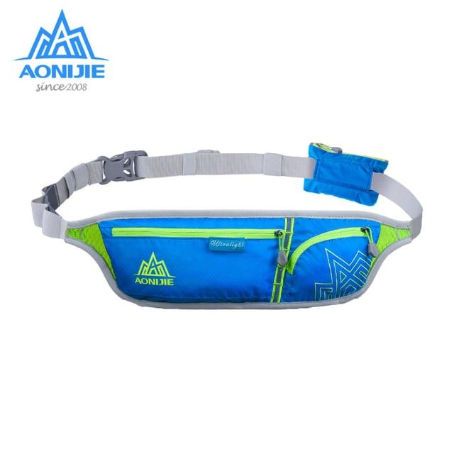 1f4c7d03a44d US $12.8 30% OFF|AONIJIE Outdoor Sport Waist Pack Lightweight Nylon Running  Marathon Bag Hiking Racing Gym Fitness Money Belt Hip Bag Men/Women-in ...