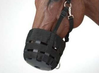 Top quality Equestrian Horse Muzzle Anti Bite Mouth Cover Knight Equipment