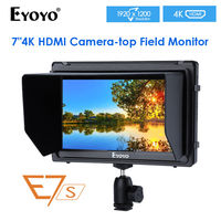 EYOYO E7S 7'' 4K Field Monitor 1920x1200 for Cameras Canon A7S2 Mark 5D2/5D3 for Sony FS7