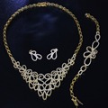 Newest Design Limited Edition Party Jewelry Supplier 3 pcs set Women Wedding Luxury banquet Gorgeous Fashion Sets Jewelry set