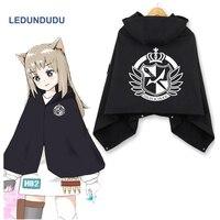Anime Danganronpa Cosplay Cloaks Monokuma Fleece Winter Blanket Hooded Capes Cos Costumes 10 colors
