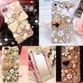 Роскошные Побрякушки Драгоценностями Горный Хрусталь Diamond Crystal Твердый Переплет Чехол Для Samsung galaxy S3 S4 S5 S6 S6Edge S6Edge Плюс S7 S7Edge