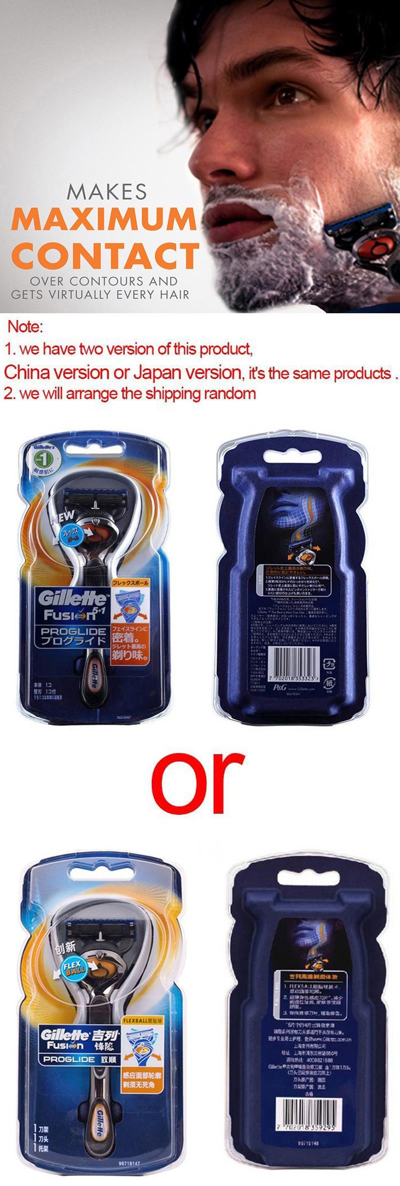 Straight Manual Razor Gillette Fusion Proglide Shaving Hair Xlmodel Custom 36737