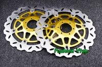 Мотоцикл спереди тормозные диски для CB400 SF SuperFour 92 97 universel