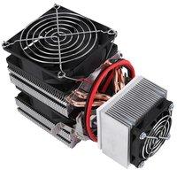 DC12V 120W Thermoelectric Cooler Peltier Refrigeration Cooler Air Cooling Radiator DIY Fridge Cooler Mini Air Conditioner