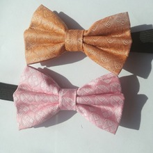 Bow-Tie Toddler for Boys Accessories Clothing Elastic-Band Grooming Silk Party Child