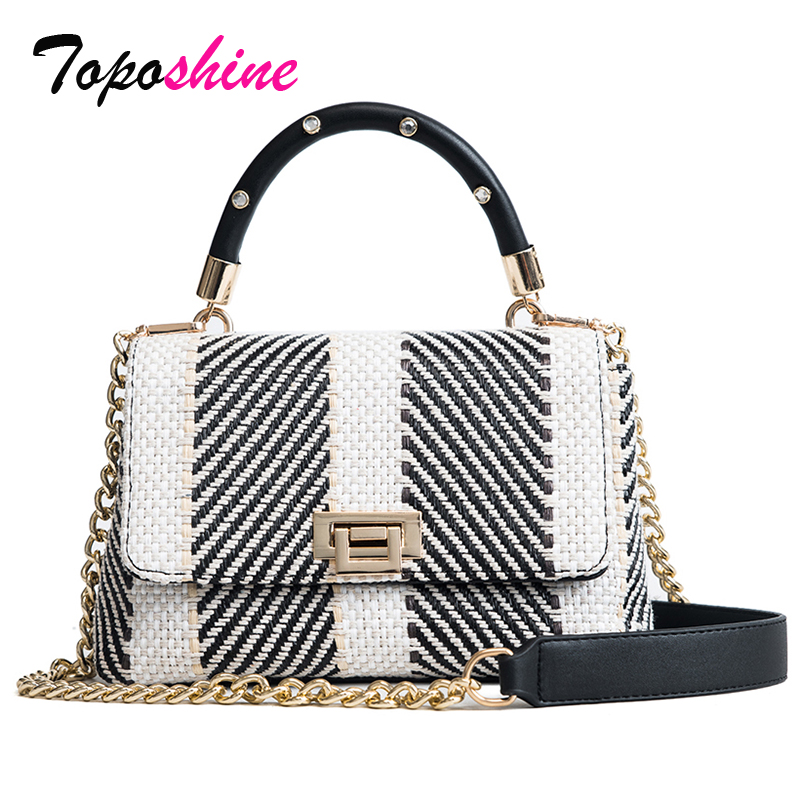 New Korean Personalized Woven Handbag Casual Wild Hit Color Small Square Package Fashion Simple Shoulder Messenger Bag