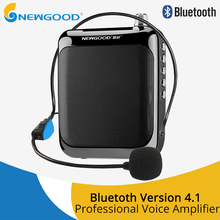 Voice Amplifier Megaphone Booster Microphone Mini Portable Speaker with USB TF Card FM radio for Teacher