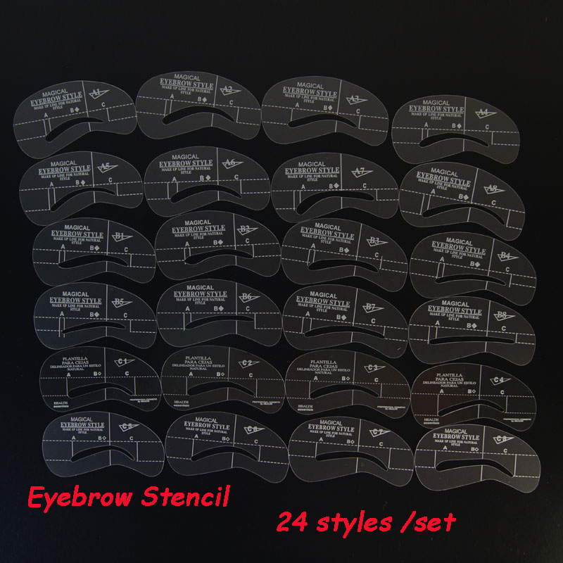 eyeliner stencil human hair eyebrow