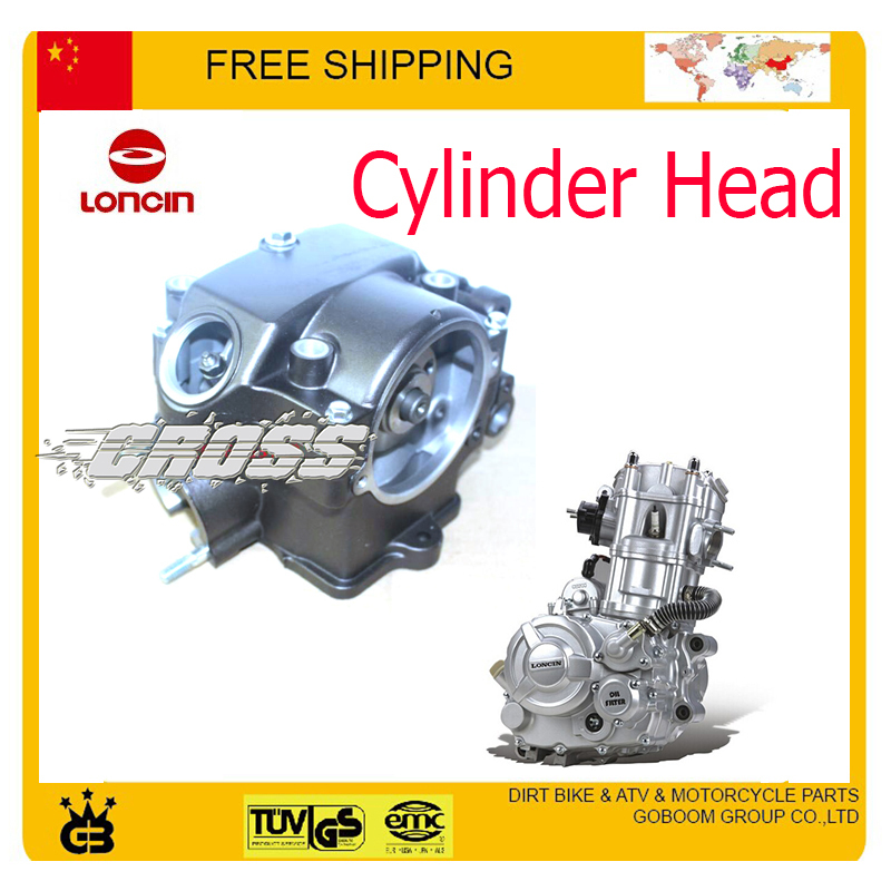 Cylinder Head For Cylinder Piaggio Liquid Cooled: Loncin CBD250 Water Cooled Engine Cylinder Head Bore