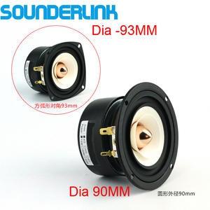 Sounderlink Full-Range Frequency-Speaker 3inch Aluminum with Bullet-Head 2pcs/Lot 90mm-Unit