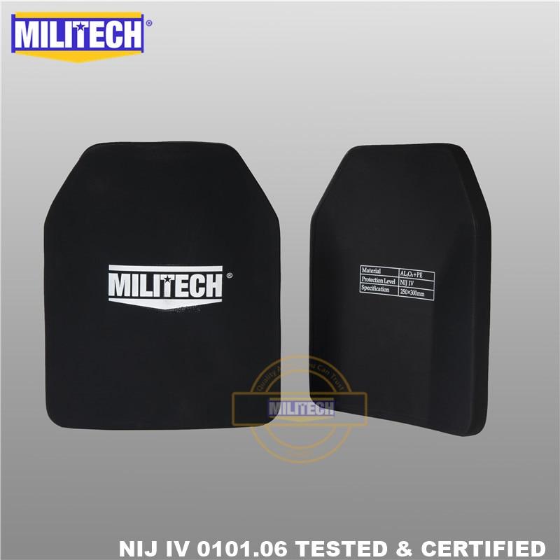 Panneau pare-balles en plaque balistique NIJ niveau 4 IV, alumine et - Sécurité et protection - Photo 5