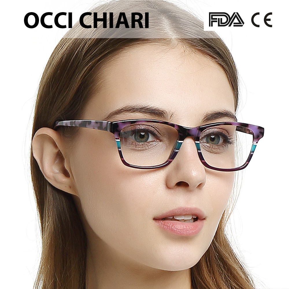 Image 5 - OCCI CHIARI HandMade Italy craftsmanship Prescription Lens Medical Optical Eyeglasses prescription Clear Glasses Frames CEREA-in Women's Eyewear Frames from Apparel Accessories
