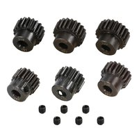 6pcs 32DP 5mm Pinion Engine Gear 16T 17T 18T 19T 20T 21T Sprocket Motor Gear Accessories for 1/8 RC Brushless Brushed Motor