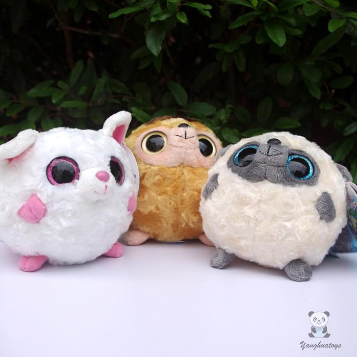 Kawaii Kids Toys Plush Ball Doll Yoohoo Penguin Red Squirrel Baby Monkey Toy Dolls Gift