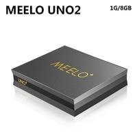 Meelo UNO2 Android S905 5.1.1 1G 8G DVB-T2 DVB-S2 Amlogic Quad Core 1080 p 4 K kodi DVB PK X96 TV Kutusu daha iyi thah K1 artı