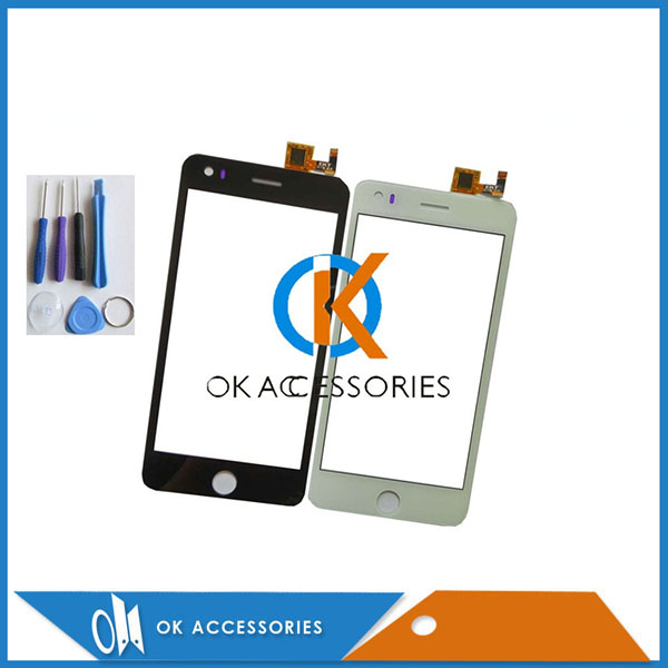 Black White Color For Elephone P6i  Jiayu G5S Touch Screen Digitizer Touch Panel 1PC/Lot With Free Tools