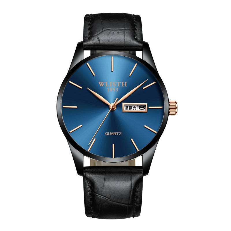 New European and American personality waterproof watch Fashion ultra thin steel belt quartz watch business luminous trend 0013 in Women 39 s Watches from Watches