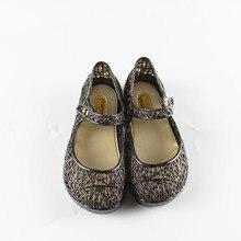 Mini Melissa Filles Cristal Sandales D'été 2017 Nouveaux Enfants Maille Trous Filles Respirant Chaussures Filles Sandales Chaussures De Gelée