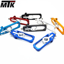 CNC Aluminum Left & Right Chain Adjusters with Spool Tensioners Catena For BMW S1000RR 2009 2010 2011 2012 2013 2014 2015 2016 waase chain adjusters with spool tensioners catena for kawasaki ninja zx6r zx 6r 2005 2006 2007 2008 2009 2010 2011 2012