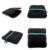 Escritor gravador de DVD externo Portátil Ultra Slim USB 2.0 CD-RW Burner Escritor Drive de DVD Externo para Laptops de Desktop Notebook (Preto) + D