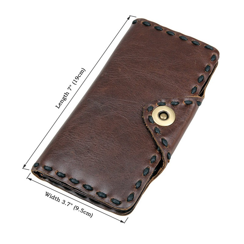 Men genuine leather wallet 1