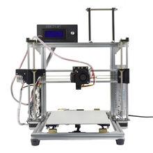 HICTOP Алюминий i3 Reprap DIY 3D Принтер, высокая Скорость Печати 30-70 мм/сек., Накаливания Монитор и Авто Функция Уровень