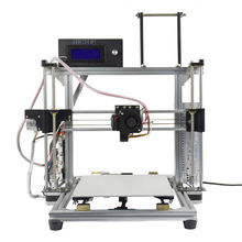 HICTOP Aluminum Reprap i3 DIY 3D Printer, High Printing Speed 30-70mm/s,  with Filament Monitor and Auto Level Function