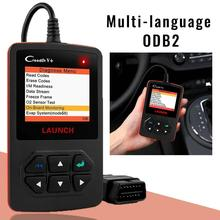 цена на Launch X431 Creader V+ OBD OBD2 Automotive Scanner Fault Code Reader With Multi-language ODB2 Car Diagnostic Tool Auto Scanner